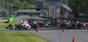 iracing monza start mclaren world's fastest gamer